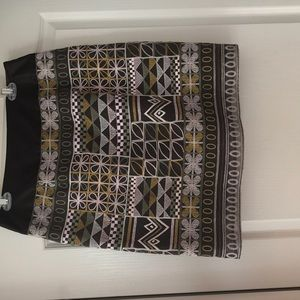 Etcetera embroidery skirt size 10